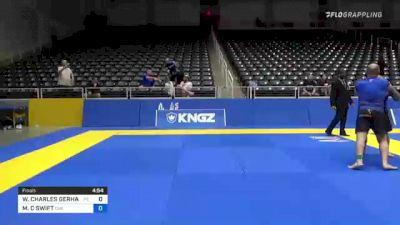 WILLIAM CHARLES GERHAUSER vs MICHAEL C SWIFT 2021 World IBJJF Jiu-Jitsu No-Gi Championship