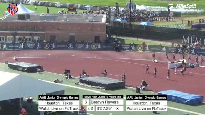 Replay: High Jump - 2021 AAU Junior Olympic Games | Aug 7 @ 9 AM
