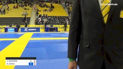 VICTOR BECERRA vs NATHANIEL ARIES 2019 Pan Kids Jiu-Jitsu IBJJF Championship