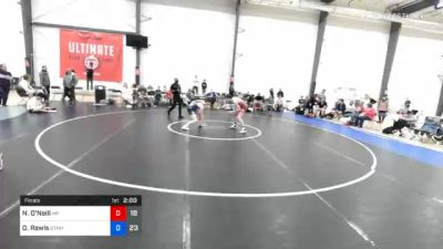57 kg Final - Nikolaus O'Neill, Malvern Prep vs Owen Rawls, Gitomer