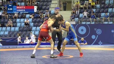 45 kg Qualif. - Bowen William Bassett, United States vs Ruslan Lukiaev, Russia