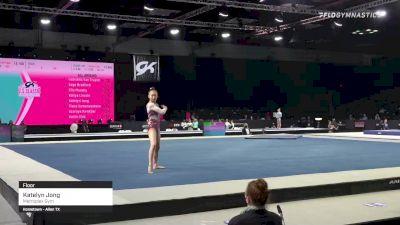 Katelyn Jong - Floor, Metroplex Gym - 2021 GK US Classic & Hopes Championship