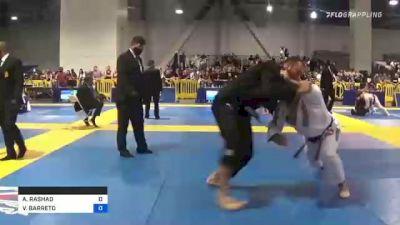 AUSTIN RASHAD vs VICTOR BARRETO 2021 American National IBJJF Jiu-Jitsu Championship