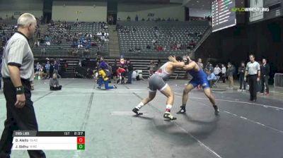 285 lbs Consi of 4 - Darryl Aiello, Clackamas vs Jimsher Sidhu, NIACC