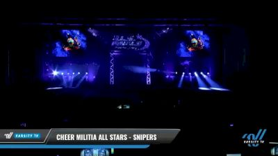 Cheer Militia All Stars - Snipers [2021 L3 Junior - D2 Day 1] 2021 The U.S. Finals: Myrtle Beach