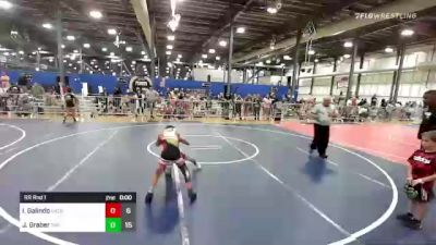 70 lbs Rr Rnd 1 - Jude Justice, Backyard Brawlers vs Logan Grant, The Funky Singlets