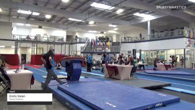 Emily Galan - Vault, Texas Dreams - 2021 Region 3 Women's Championships
