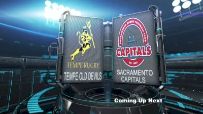 Men's Club Playoffs Tempe Old Devils vs Sacramento Capitals