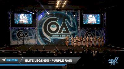 Elite Legends - Purple Rain [2020 L4 Senior - D2 - Small Day 2] 2020 COA: Midwest National Championship
