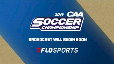 Full Replay: 2019 William & Mary vs UNCW   CAA Men's Soccer Semifinal