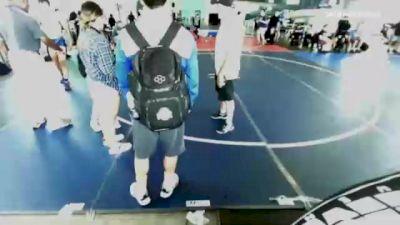 160 lbs 2nd Place - Arvin Khosravy, Individual vs Charles Croci, Dorado WC