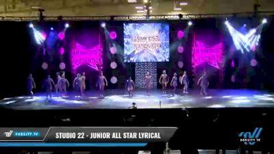 Studio 22 - Junior All Star Lyrical [2021 Junior - Contemporary/Lyrical - Small Day 1] 2021 JAMfest: Dance Super Nationals
