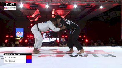 Lucas Pinheiro vs Gabriel Sousa Fight To Win 181