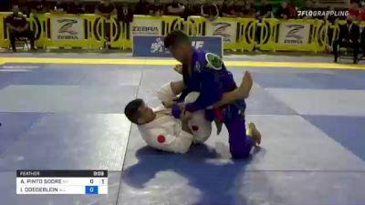 ALEXSSANDRO PINTO SODRE vs ISAAC DOEDERLEIN 2021 Pan Jiu-Jitsu IBJJF Championship