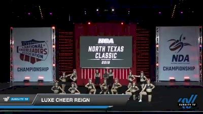 - Luxe Cheer Reign [2019 Senior 4.2 Day 1] 2019 NCA North Texas Classic