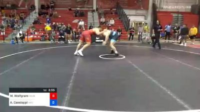 125 kg Prelims - Michael Wolfgram, Mountaineer Wrestling Club vs Anthony Cassioppi, Hawkeye Wrestling Club