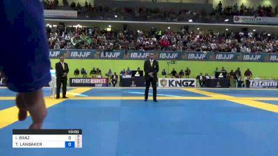 ISAQUE BAHIENSE vs TOMMY LANGAKER 2019 European IBJJF Championship