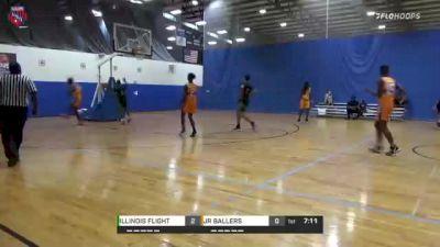 JR BALLERS vs. ILLINOIS FLIGHT - 2021 AAU Boys World Championships (14U/8th Grade)