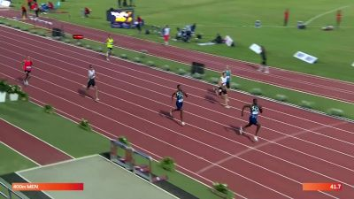 Men's 400m - Kirani James Closes Strong To Win In 44.46