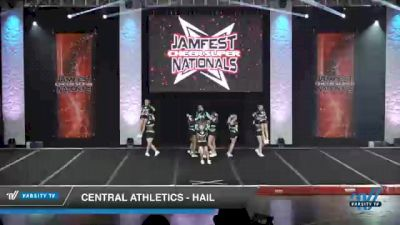 Central Athletics - Hail [2021 L3 Junior - D2 - Small - A Day 1] 2021 JAMfest Cheer Super Nationals