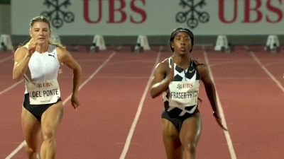 Women's 100m - Shelly-Ann Fraser-Pryce Ends Her Season With Another 10.7