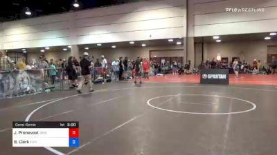 130 kg Consolation - Jason Prenevost, Oregon vs Brett Clark, Team Fluffy
