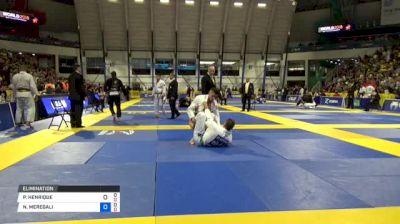 PEDRO HENRIQUE vs NICHOLAS MEREGALI 2018 World IBJJF Jiu-Jitsu Championship