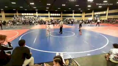 65 lbs Consi Of 4 - Antonio Aguilar, Red Wave vs Kellen Frost, Team Aggression