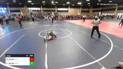 65 lbs Round Of 16 - Brody Jarrell, Granite WC vs Caleb Heyder, Sanderson Wr Ac