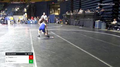 165 lbs Consolation - Jacob Thalin, Cal State Bakersfield vs Connor Flynn, Missouri
