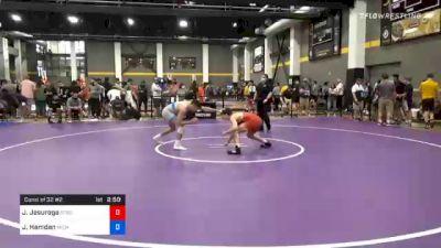 65 kg Consolation - Joel Jesuroga, Sebolt Wrestling Academy vs Jordan Hamdan, Michigan Wrestling CLub