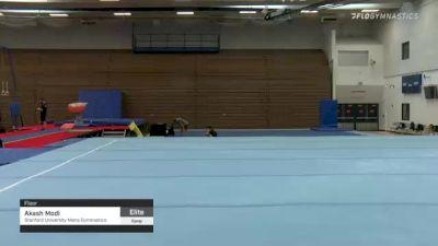Akash Modi - Floor, Stanford University Mens Gymnastics - 2021 Men's Olympic Team Prep Camp