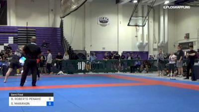 BOLIVAR ROBERTO PENAHERRERA vs SAVION MARANON 2019 Pan IBJJF Jiu-Jitsu No-Gi Championship