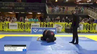 RYAN ALLEN TROESTER vs CHRISTOPHER JOHN COLON 2021 Pan Jiu-Jitsu IBJJF Championship