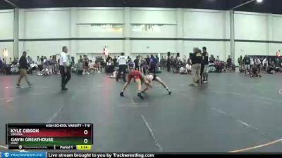 119 lbs Cons. Round 6 - Gavin Greathouse, Ohio vs Kyle Gibson, Virginia