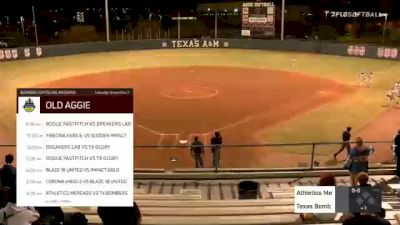 Texas Bombers Gold vs. Athletics Mercado - 2020 Bombers Exposure Weekend - Old Aggie Field - Pool Play
