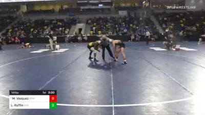 141 lbs Prelims - Mario Vasquez, Ferrum College vs La`ron Ruffin, Adrian College