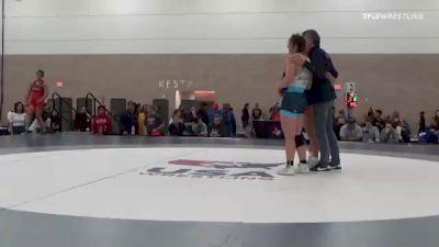 65 kg Rr Rnd 2 - Ashlynn Ortega, CO vs Alara Boyd, IN