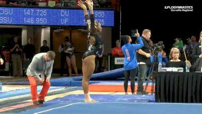 Destinee Davis - Floor, Oregon State - 2019 NCAA Gymnastics Regional Championships - Oregon State
