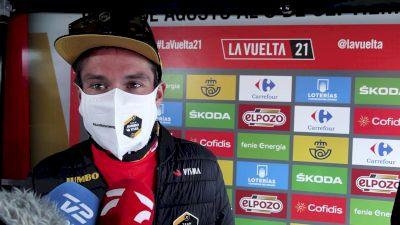 Vuelta a España: Primoz Roglic Feels Safer In Red After Gamoniteiru
