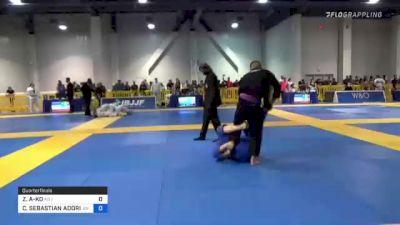 ZACHARY KAIMA'ALI-KO vs CHARLES SEBASTIAN ADORIAN 2021 American National IBJJF Jiu-Jitsu Championship