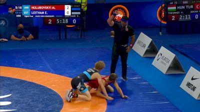 67 kg Round Of 16 - Marian Holubovskyi, UKR vs Ekke Kou Leitham, Est