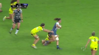 Dramatic Try Clinches World Series For Australia