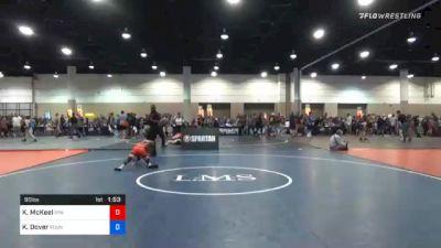 92 lbs Prelims - June Treser-Pyles, Ohio vs Emma Bacon, Florida