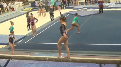 Jessica Johanson - Beam, New England Gym Exp - 2018 Parkettes Invitational