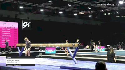 Kieryn Finnell - Beam, Rochester Gym - 2021 GK US Classic & Hopes Championship