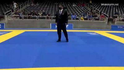 A. LEWIS TRAVIESO  vs N.P. MANCINI 2021 World IBJJF Jiu-Jitsu No-Gi Championship