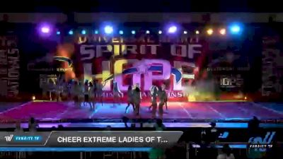 Cheer Extreme Ladies of Teal [2021 International Open 6 Day 2] 2021 Universal Spirit: Spirit of Hope National Championship