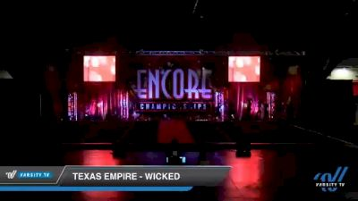 Texas Empire - Wicked [2020 L3 Senior - D2 Day 2] 2020 Encore Championships: Houston DI & DII