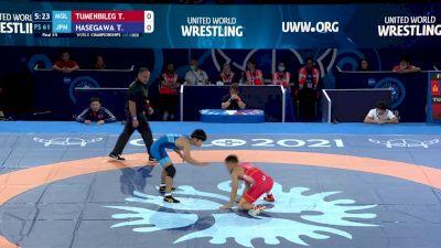 61 kg Final 3-5 - Tuvshintulga Tumenbileg, Mongolia vs Toshihiro Hasegawa, Japan